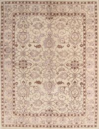 Hand-tufted 10x 13 and 10x10 Round Oushak Oriental Area Rug