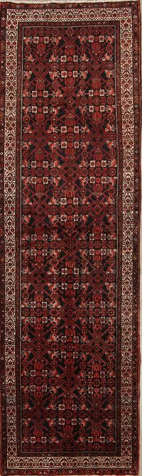 4x13 Malayer Hamedan Persian Rug Runner