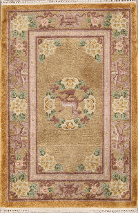 Art Deco Oriental Area Rug