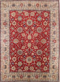 All Over 9x13 Isfahan Persian Area Rug
