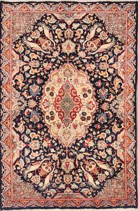 Animal Pictorial 5x7 Kashmar Persian Area Rug