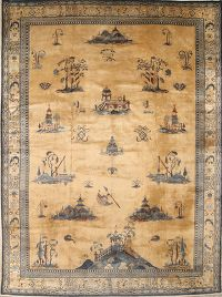 10x13 Peking Chinese Oriental Area Rug