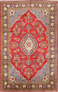 7x11 Golpayegan Persian Area Rug