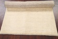 Solid Gabbeh Shiraz Persian Modern Hand-Knotted Wool Rug 4x6 image 11