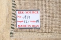 Solid Gabbeh Shiraz Persian Modern Hand-Knotted Wool Rug 4x6 image 14