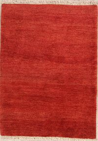 Contemporary Gabbeh Shiraz Persian Area Rug 4x5