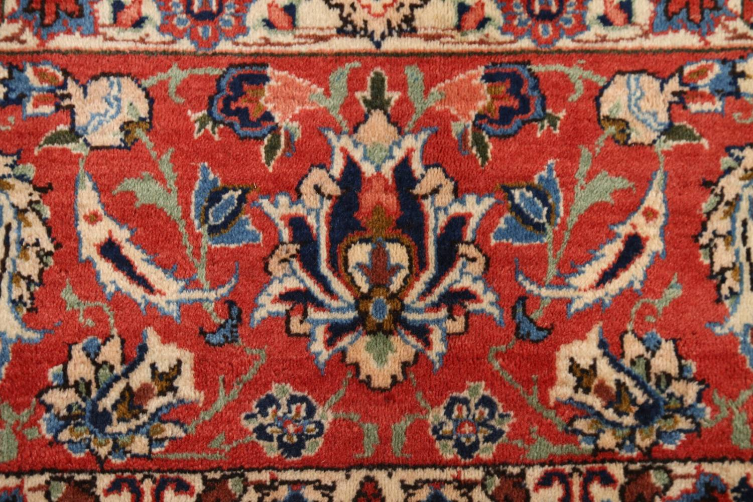 Floral 9x13 Isfahan Persian Area Rug image 7
