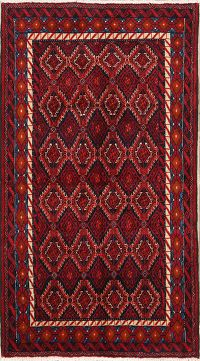 Tribal Balouch Persian Area Rug 4x6