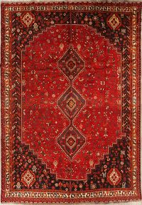 7x10 Shiraz Persian Area Rug