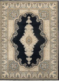 Soft Plush 10x13 Kerman Machine Made Persian Area Rug