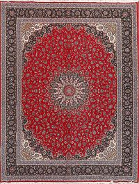 Floral Traditional 10x13 Mashad Persian Area Rug