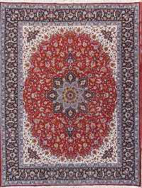 Soft Plush 10×13 Isfahan Machine Made Persian Area Rug