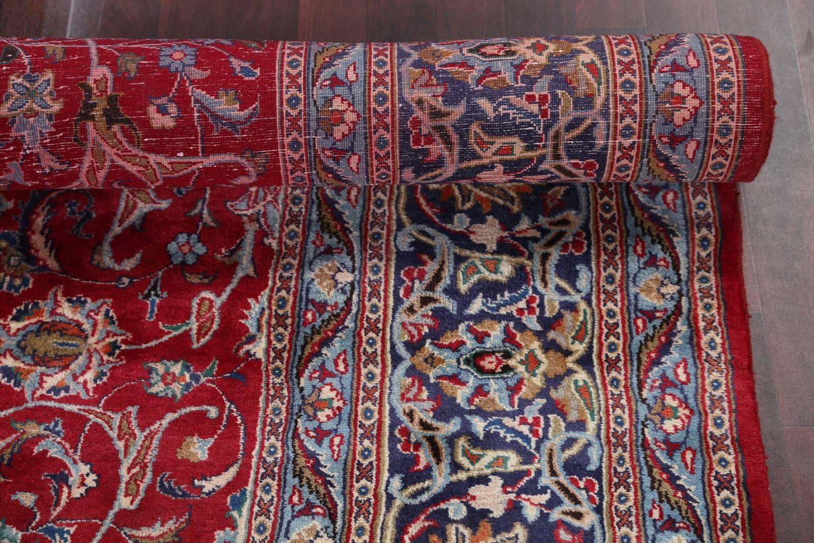 Floral Red 10x12 Kashmar Persian Area Rug