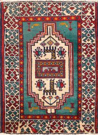 2x3 Turkoman Persian Area Rug