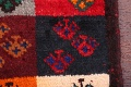 Thick Pile Tribal 2x6 Gabbeh Shiraz Persian Rug Runner image 8