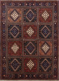 South-West  Tribal 5x7 Yalameh Shiraz Persian Area Rug