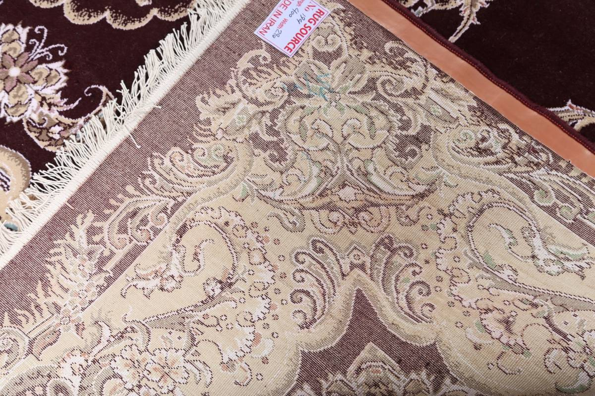 Traditional Floral 10x13 Tabriz Persian Area Rug image 19