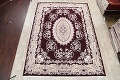 Traditional Floral 10x13 Tabriz Persian Area Rug image 2