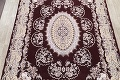 Traditional Floral 10x13 Tabriz Persian Area Rug image 3