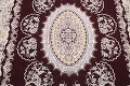 Traditional Floral 10x13 Tabriz Persian Area Rug image 4