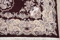 Traditional Floral 10x13 Tabriz Persian Area Rug image 6