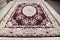 Traditional Floral 10x13 Tabriz Persian Area Rug image 14