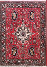 Soft Plush Geometric 10x13 Kerman Persian Area Rug