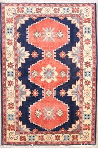 Geometric 4x6 Sarouk Persian Area Rug