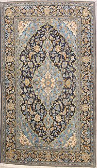 Floral 4x7 Kashan Persian Area Rug