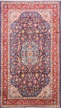 Decorative Floral 5x8 Sarouk Persian Area Rug