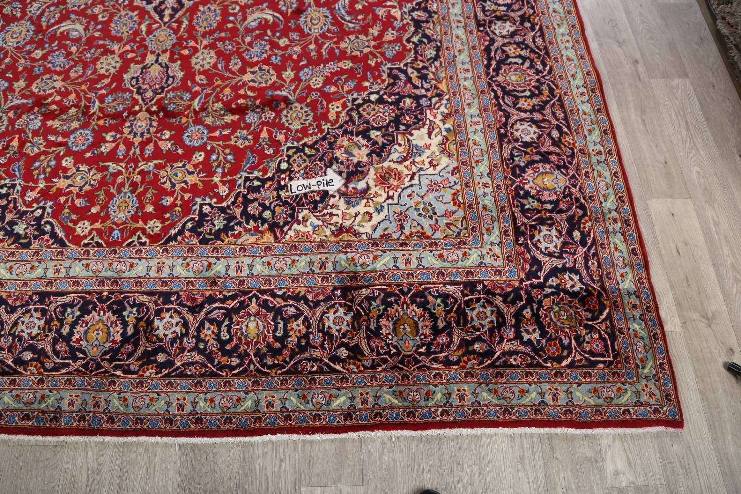 Traditional Floral 10x14 Kashan Persian Area Rug image 16
