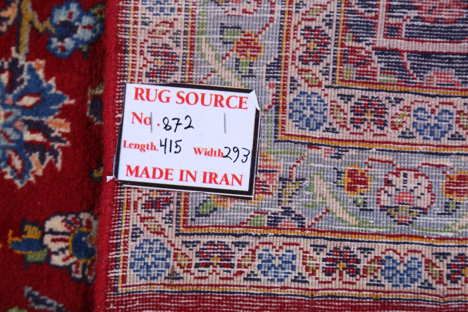 Traditional Floral 10x14 Kashan Persian Area Rug image 22