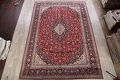 Traditional Floral 10x14 Kashan Persian Area Rug image 2