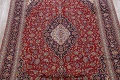 Traditional Floral 10x14 Kashan Persian Area Rug image 3
