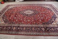 Traditional Floral 10x14 Kashan Persian Area Rug image 13