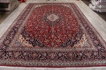 Traditional Floral 10x14 Kashan Persian Area Rug image 14