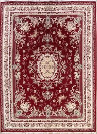 Soft Plush Foral 10x13 Tabriz Persian Area Rug