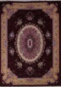 Soft Plush Colorful 10x13 Tabriz Persian Area Rug