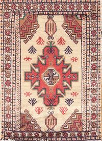 Geometric Tribal 2x3 Balouch Turkoman Persian Area Rug