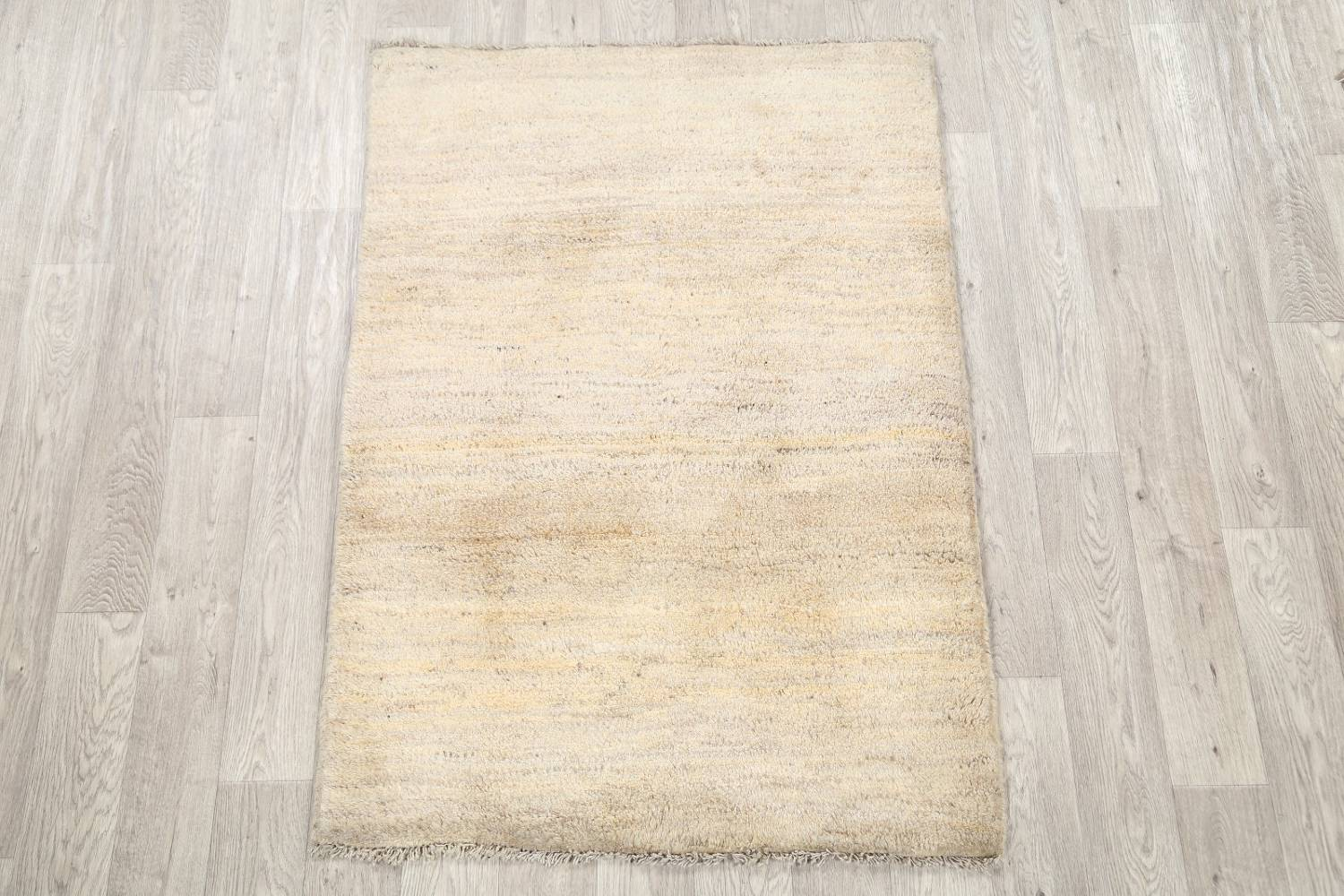 Solid Modern 4x5 Gabbeh Shiraz Persian Area Rug image 2