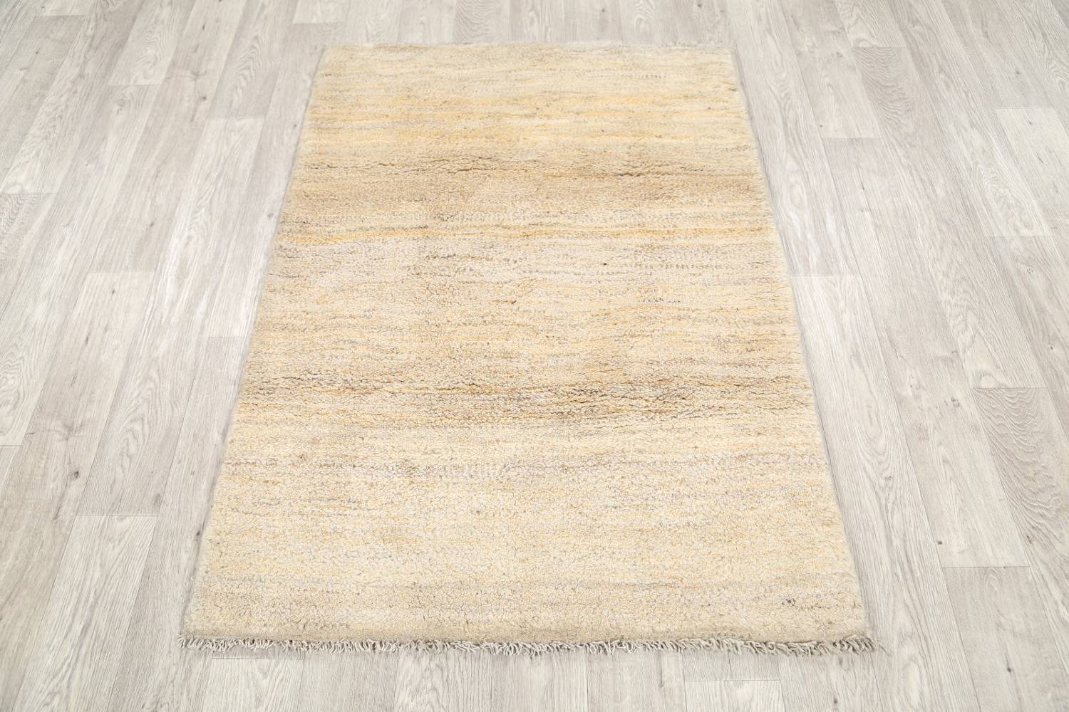 Solid Modern 4x5 Gabbeh Shiraz Persian Area Rug image 12