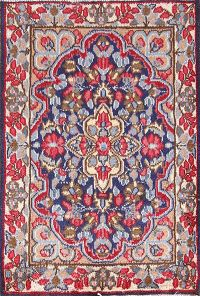 2x3 Kerman Persian Area Rug