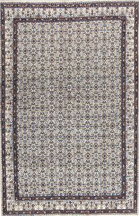 All-Over Floral 7x11 Mood Persian Wool Area Rug