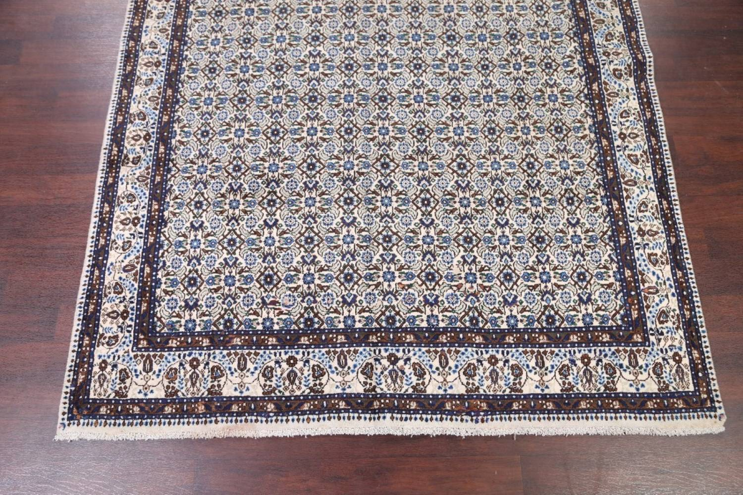 All-Over Floral 7x11 Mood Persian Wool Area Rug image 5
