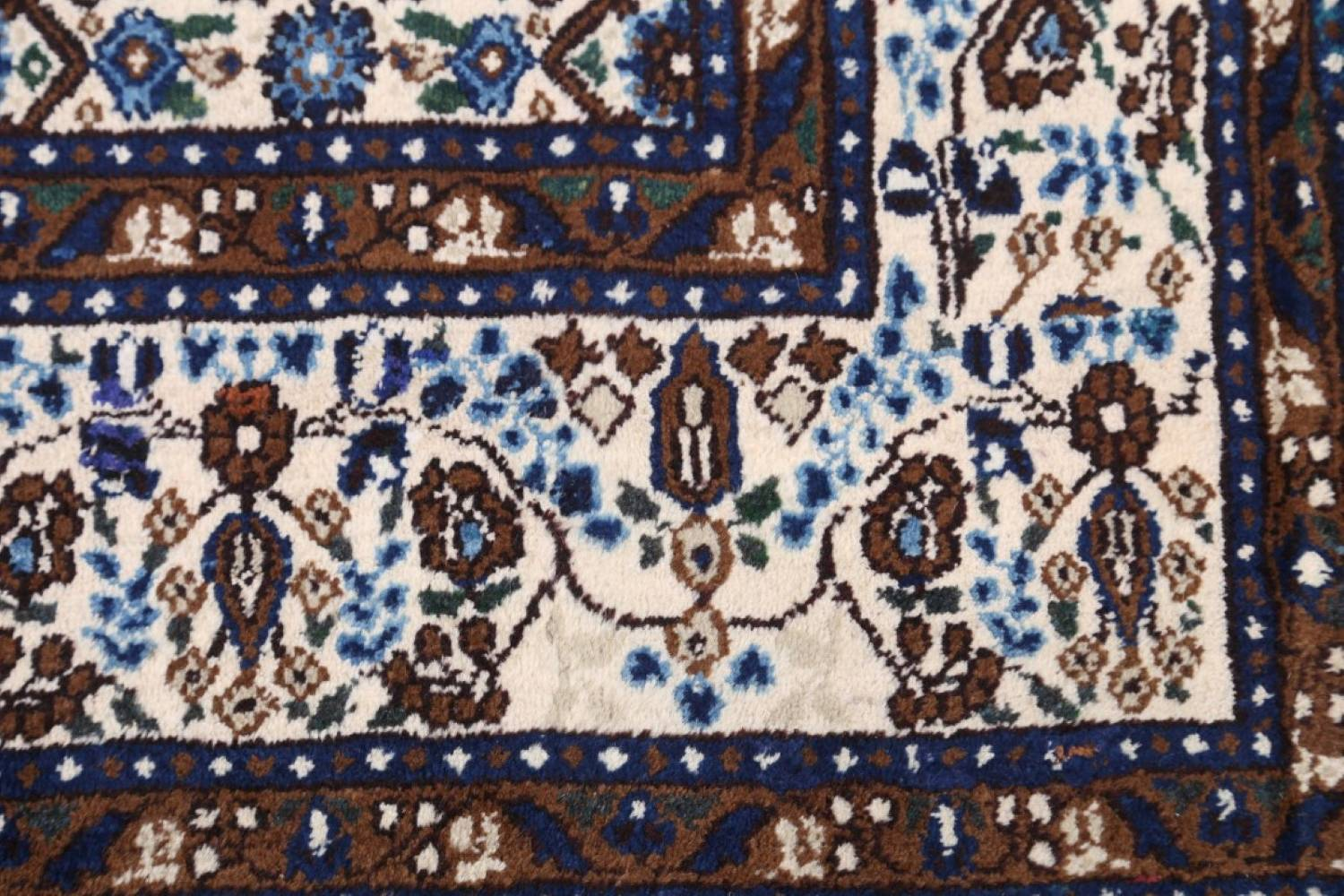 All-Over Floral 7x11 Mood Persian Wool Area Rug image 7