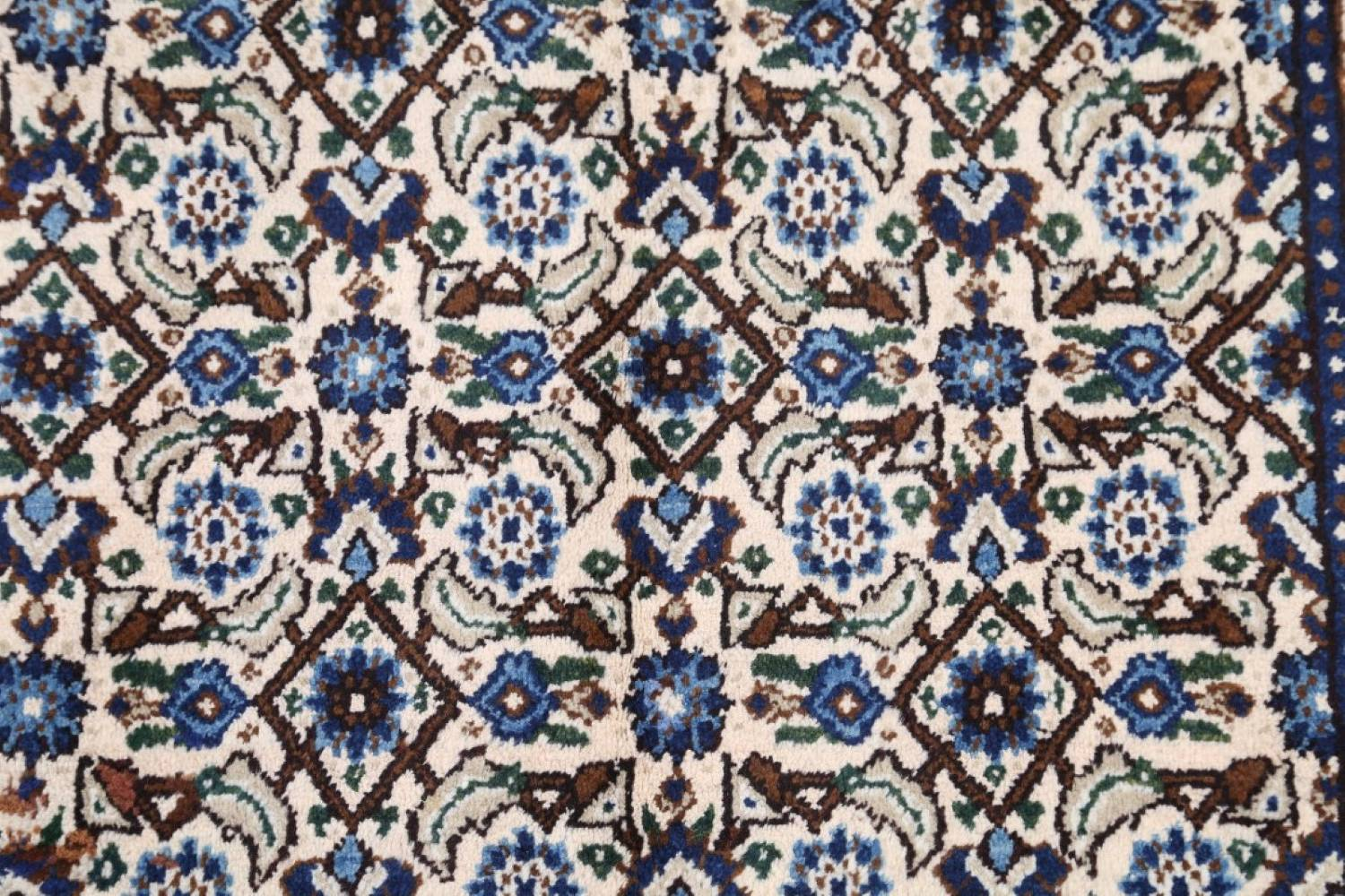 All-Over Floral 7x11 Mood Persian Wool Area Rug image 8