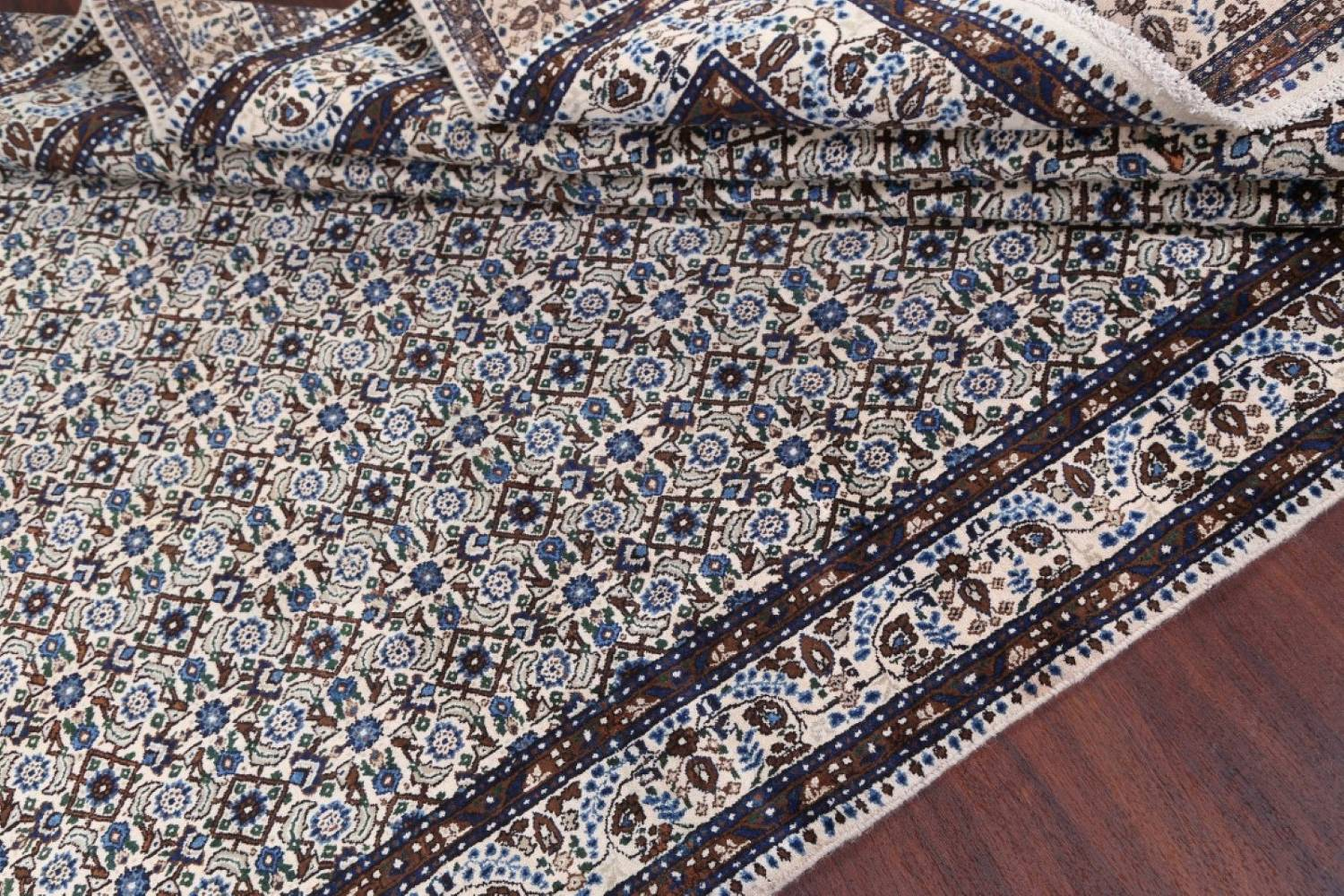All-Over Floral 7x11 Mood Persian Wool Area Rug image 14