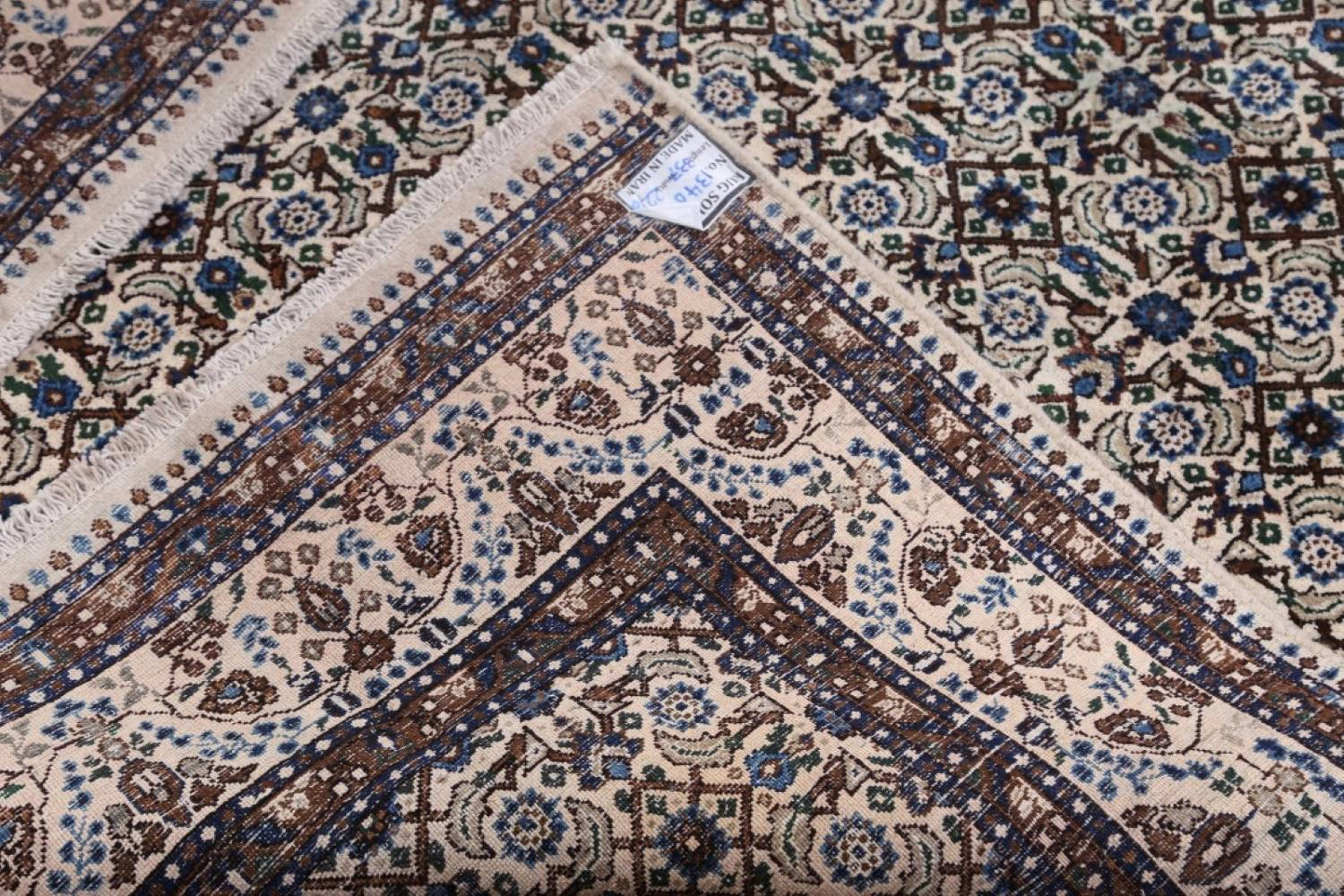 All-Over Floral 7x11 Mood Persian Wool Area Rug image 18