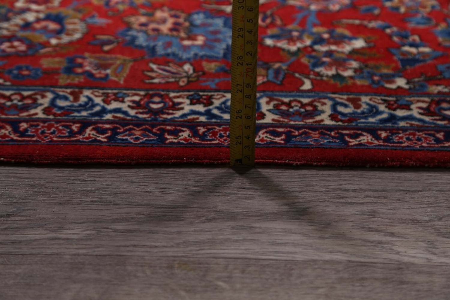 Antique Floral 10x16 Isfahan Persian Area Rug image 27
