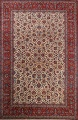 Antique Floral 10x16 Isfahan Persian Area Rug image 1